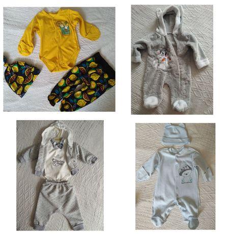 для новорожденных, роддом,человечек, костюм,тёплый, для малышей, 56-62