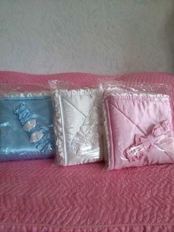 Одеяло-конверт для новорожденных