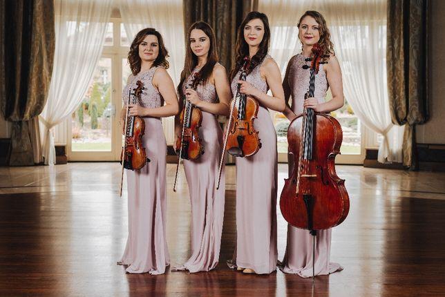 Elegancka oprawa muzyczna ślubu/wesela - Kwartet/Duet/Skrzypce
