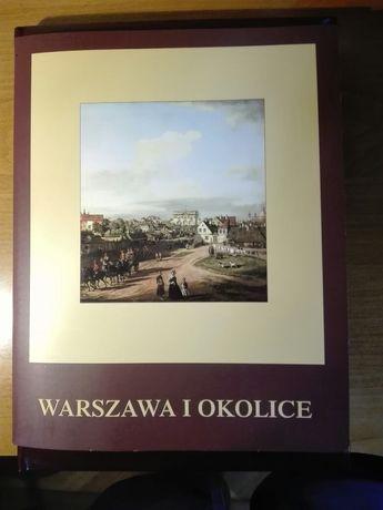 Warszawa i okolice. Skarb kultury i literatury polskiej. Album, ksiązk