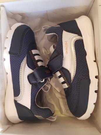 Sneakersy Runner , Geox , granatowe, rozmiar 24, nowe, oryginalne