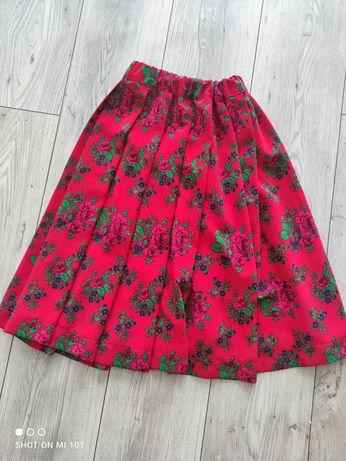 Sukienka góralska dla dziewczynki 6-10 lat.