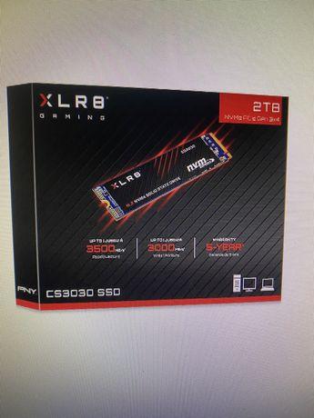 Новый! SSD PNY CS3030 2TB M.2 NVMe M280CS3030-1TB-RB 3115TBW