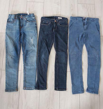 Spodnie 140 slim