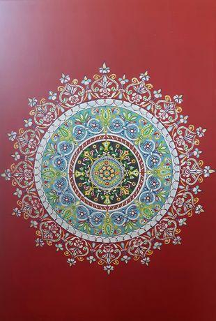Obraz akrylowy mandala