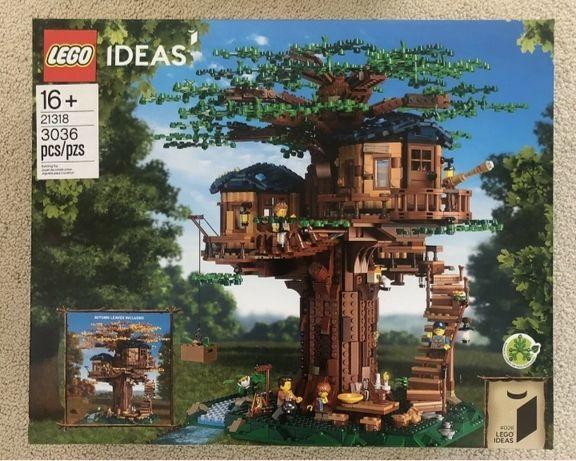 LEGO IDEAS Domek na drzewie 21318 NOWY na PREZENT!!!