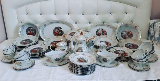 Огромный набор посуды kahla Мадонна для коллекционеров ретро винтаж