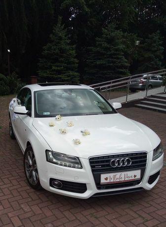 Samochód auto do ślubu białe audi a5 OSTATNIE WOLNE TERMINY 2021 !!!