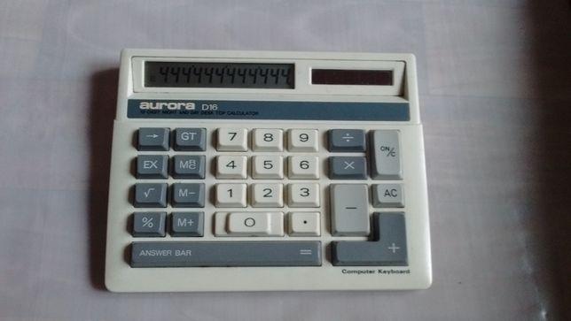 Калькулятор советских времен Aurora D16 СССР