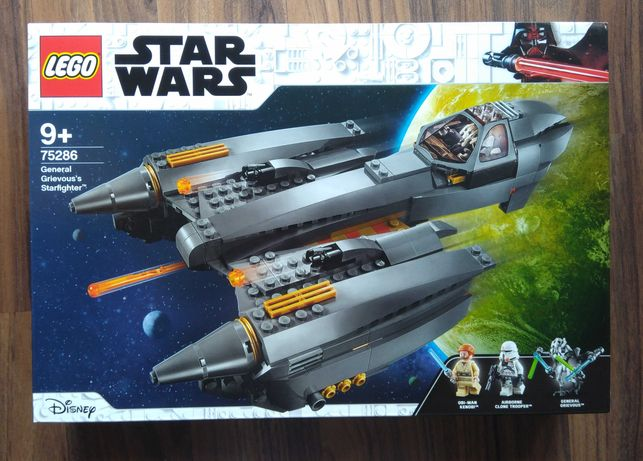 LEGO Star Wars 75286 - Starfighter do General Grievous (NOVO E SELADO)