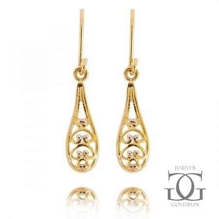 Piękne kolczyki złote od Goldrun