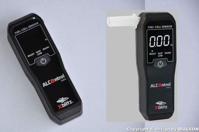 Profesjonalny Alkomat XBLITZ Alcontrol Mini + Ustniki Kalibracja F VAT