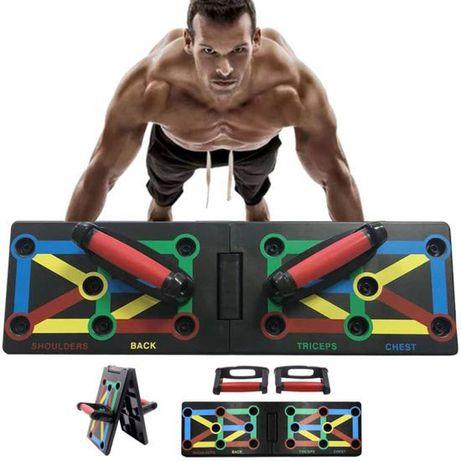 Многофункциональная доска стойка для отжиманий Push Up Rack Board