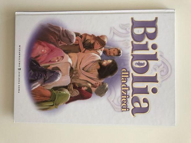 Biblia dla dzieci wydawnictwo zielona sowa