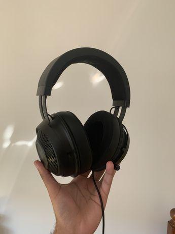 Headseats Razer Kraken - Black/OFERTA STIKERS DBRAND AVALIADA EM 140€