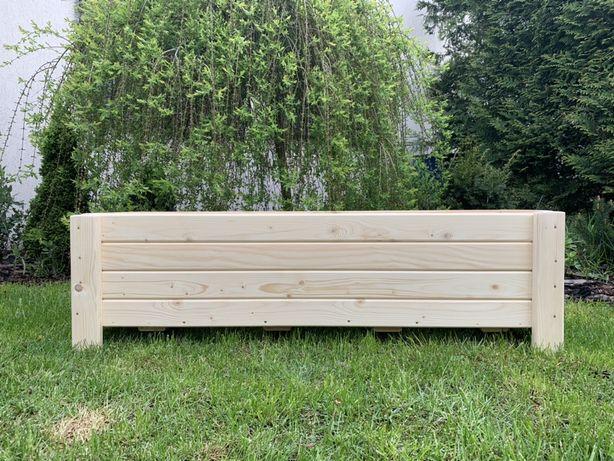 Donice, doniczki drewniane z wkładem 76/100/120cm