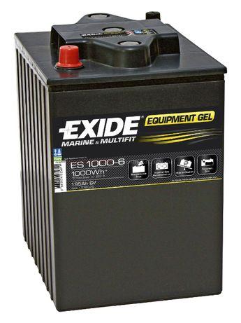 Akumulator 6V 195Ah 1000Wh Exide Equipment GEL ES1000-6