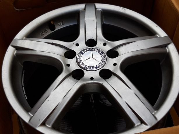 ЛИТЫЕ диски R16 5 112 Mercedes Benz 100% ОРИГИНАЛ