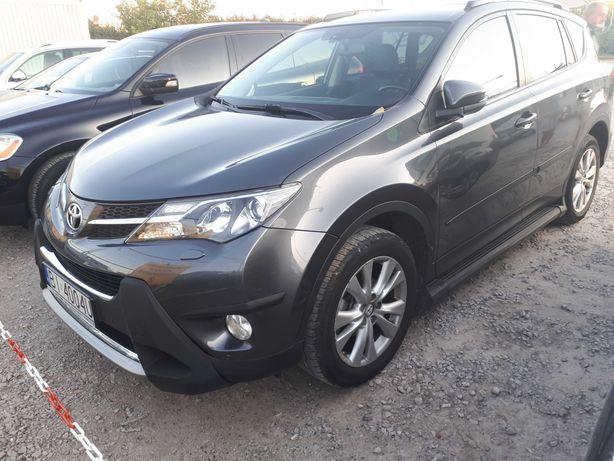 Toyota Rav 4 2.2 D 150 KM 2013 faktura vat 23%