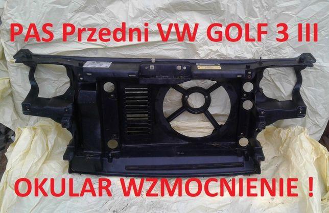 VW Golf 3 MK3 III Pas Przedni Okular Wzmocnienie Czołowe na Chłodnice