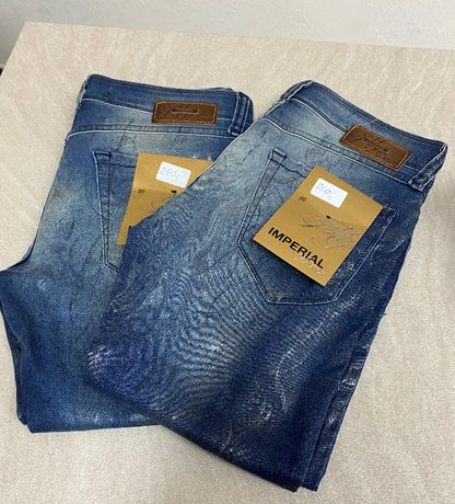 IMPERIAL jeansy różne wzory!