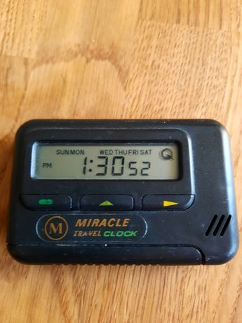 Zegar travel clock miracle PRL