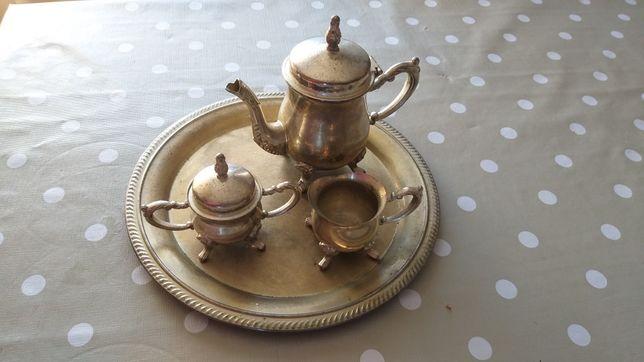 Conjunto de Chá em casquinha