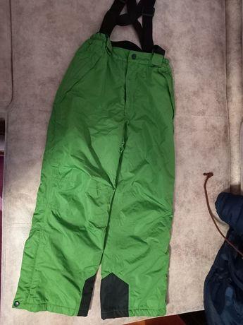 Зимові теплі штани з резинками ,140
