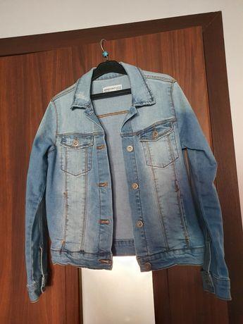 Zara kurtka jeans miękka 140 idealna