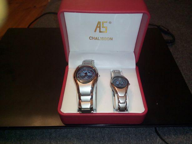 Komplet dwóch zegarków