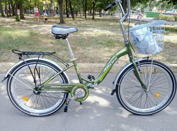 ПРОДАЕТСЯ велосипед, складной,дорожний,универсальний 24 дюйма