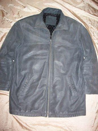 Кожаная мото-куртка пилот Angelo litrico Германия размер XL