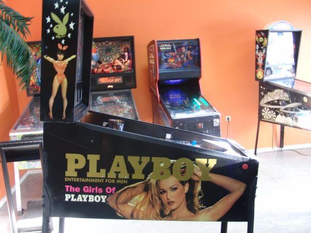 Reparação de máquinas flipper e arcade