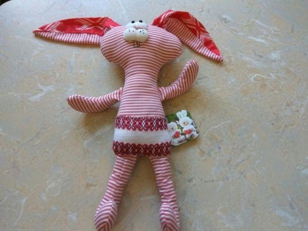 Заяц зайчик мягкая игрушка сувенир