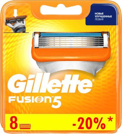 Сменные кассеты / лезвия gillette fusion