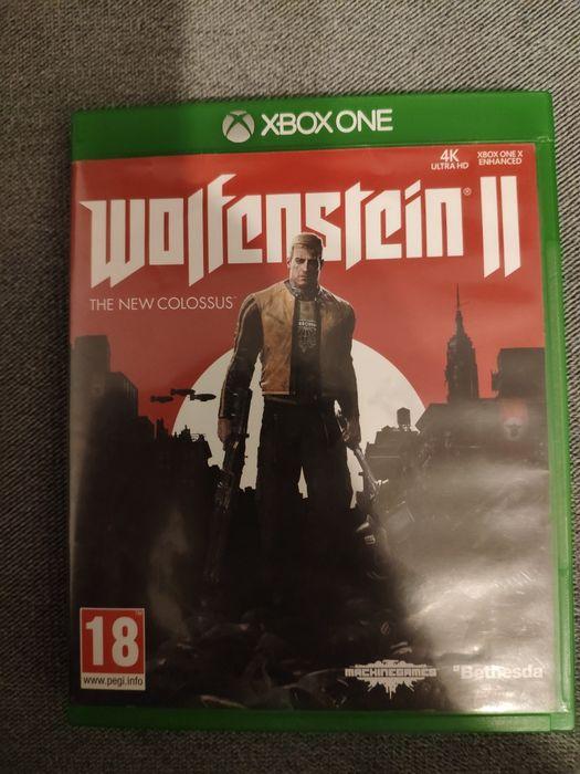 Wolfenstein II 2 gra płyta Xbox one x s fat series x s ładny stan Toruń - image 1