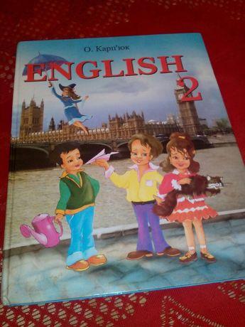 Английский 2 кл. О.Карп'юк