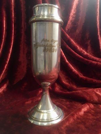 Кубок бокал ваза посеребрение 1920 г