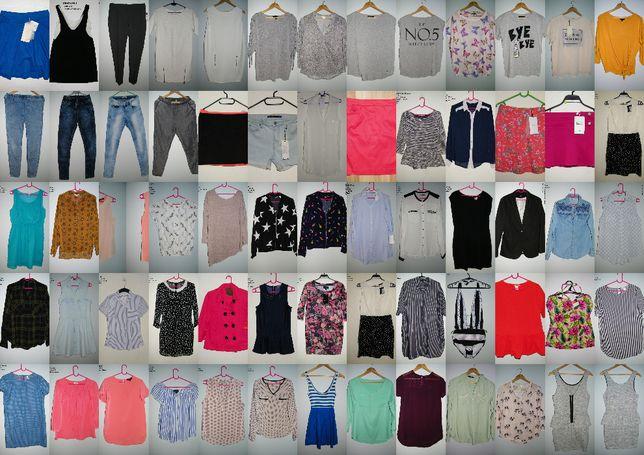 nowe i używane ubrania 34 XS 36 S 38 M reserved zara mohito h&m bershk