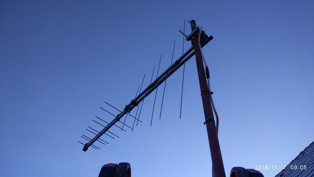 Profesjonalne ustawianie anten SAT i TV naziemnej DVB-T !