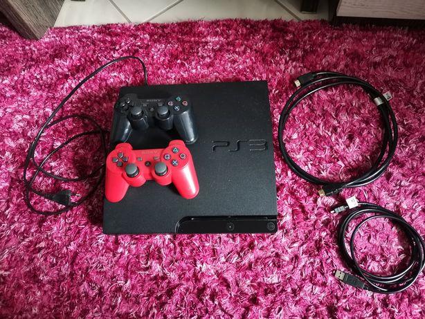 Sprzedam PS3 + DWA PADY i  gry