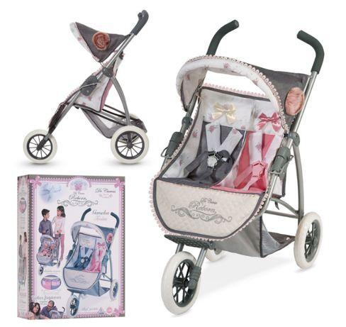 Двухместная прогулочная коляска для кукол DeCuevas Новогодний подарок