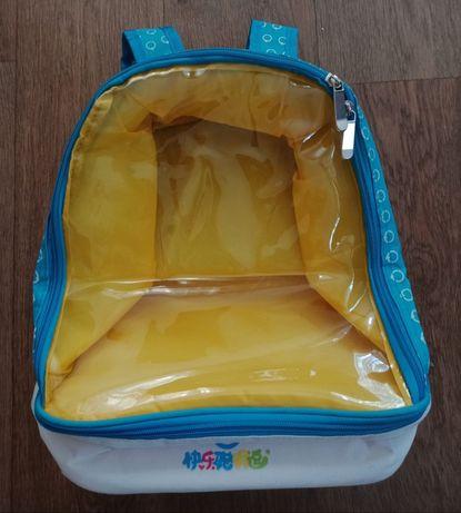 Прозрачный рюкзак холодильник