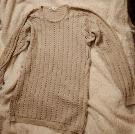 Swetry beżowe