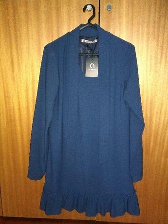 Vestido Azul - novo com etiqueta