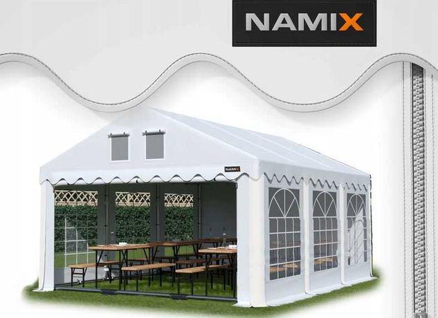 Namiot GRAND 6x6 ogrodowy imprezowy garaż wzmocniony PVC 560g/m2