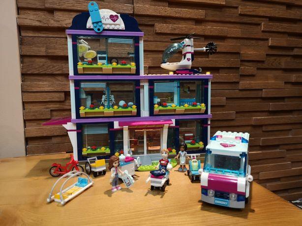 Zestaw klocków LEGO FRIENDS 41318 Szpital w Heartlake