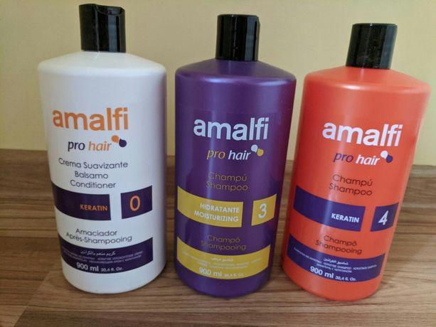 Шампунь для волос женский 900 мл Испания Amalfi