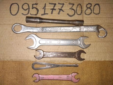 Мото ключи набор №1