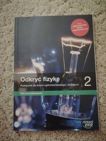 """""""Odkryć fizykę 2"""" podręcznik dla szkół ponadpodstawowych"""